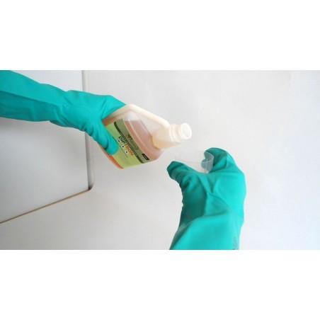 Gants Ultra résistants industriels Nitrile réutilisables Nitrile vert