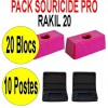 PACK SOURICIDE RAKIL 20 BLOCS