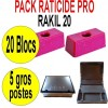 PACK RATICIDE RAKIL 20 BLOCS
