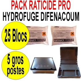 Pack Raticide Hydrofuge
